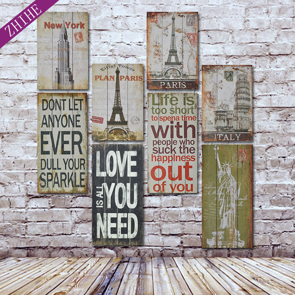 Wholesale high quality wooden signs printed wood <strong>art</strong> for wall decoration