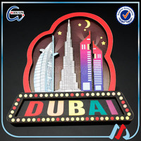 NZ dubai magnetic fridge magnets from around the world