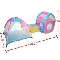 Ultralarge Children Tunnel Design Tent Baby Toy Play Game House Outdoor Tents