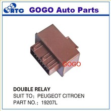 High quality Fuel Double Relay For Peugeot Citroen 19207L / 96299459 / 9629945980