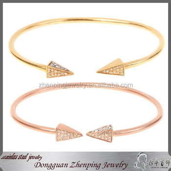 Fashion jewelry stainless steel bangle