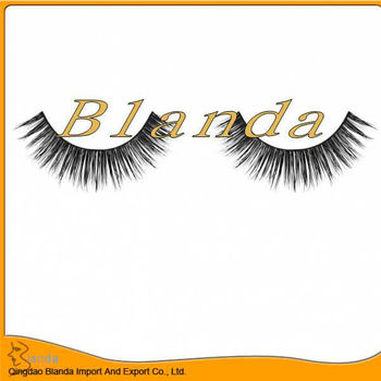 Hot false mink eyelashes design and hot selling in UK