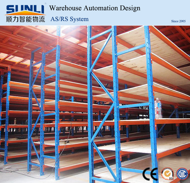 light weight long span rack steel shelves