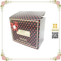 Mystical red dot perfume bottle packaging paper containers