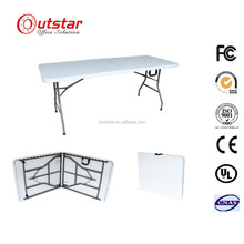 6ft uesd banquet tables /catering foldable in middle camping outdoor leisure portable recentangular table/HPDE tables