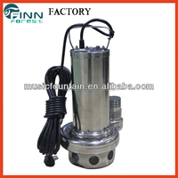 stainless steel/cast iron Water Pump submersible China Supply 1.5kw 2.2kw water fountain pump