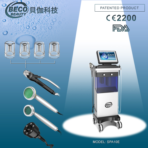 Super skin cleaning machine Photon Hydro skin beauty therapy system