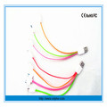 China supplier 2015 wholesale promotion noodle flat usb data charger cable for iphone 4