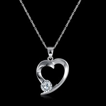 S925 Sterling Silver faith hope love necklace for boys and girls