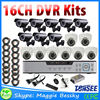 16 channel 1000TVL video surveillance system DVR kit, H.264 1080p 4ch Poe Nvr Cctv System,cctv tester