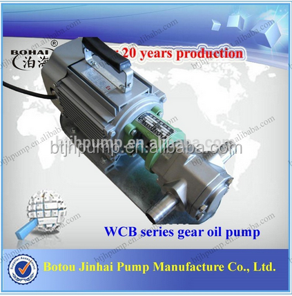 Made in China WCB Portable gear oil transfer pump, Mini fuel transfer pump, Diesel transfer pump