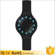 Bluetooth 4.0 12 LED Display Smart Sport Band Bracelet with Sleep Monitor