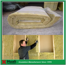 wall and roof heat preservation rock wool roofing felt insulation