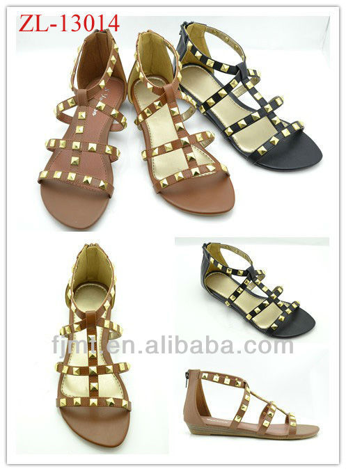 Roma Style Studed 2012 Women Sandals Shoe
