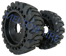 skid steer tire 10-16.5 with wheel