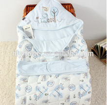 100% Cotton Baby bath robe for kids ,cotton hooded towel