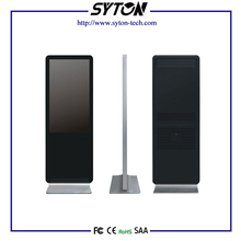 42 Inch Indoor High Resolution WIFI Network LCD Advertising Digital Display With Computer System