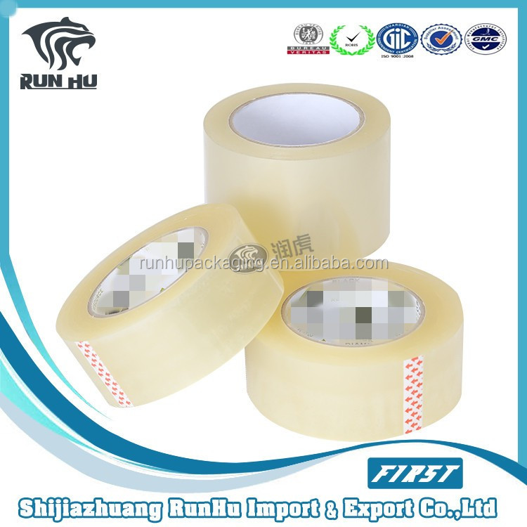 Top quality 48mmX66m Adhesive Sealing Opp Packing Tape