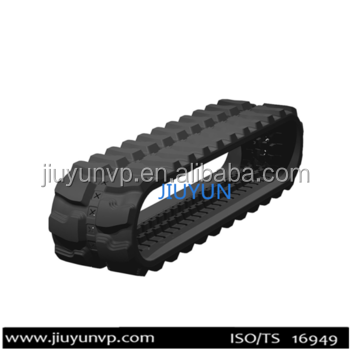 400*90 Rubber tracks for lawn mower rubber tracks snow blower rubber track for excavator