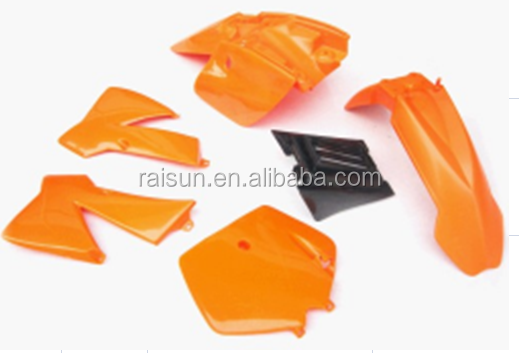 cheap <strong>KTM</strong> 50 <strong>50cc</strong> 50XS motorcycle pitbike body plastic cover kit dirt bike Fender