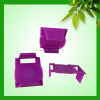 China gold manufacturer high quality plastic bread bag clip