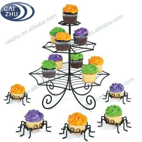 Spider Cupcake Stand