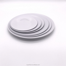 High quality BPA free Plastic cheap custom print logo Wholesale melamine plates bulk china ware