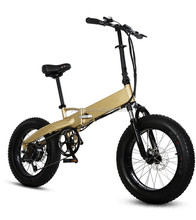20inch 250w 350w 500w hidden lithium battery fat folding electric bike/fatbike/foldable e bicycle