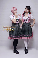 Oktoberfest Beer Festival Bar Girl Maidservant Cosplay Party Costume Dress Clothes
