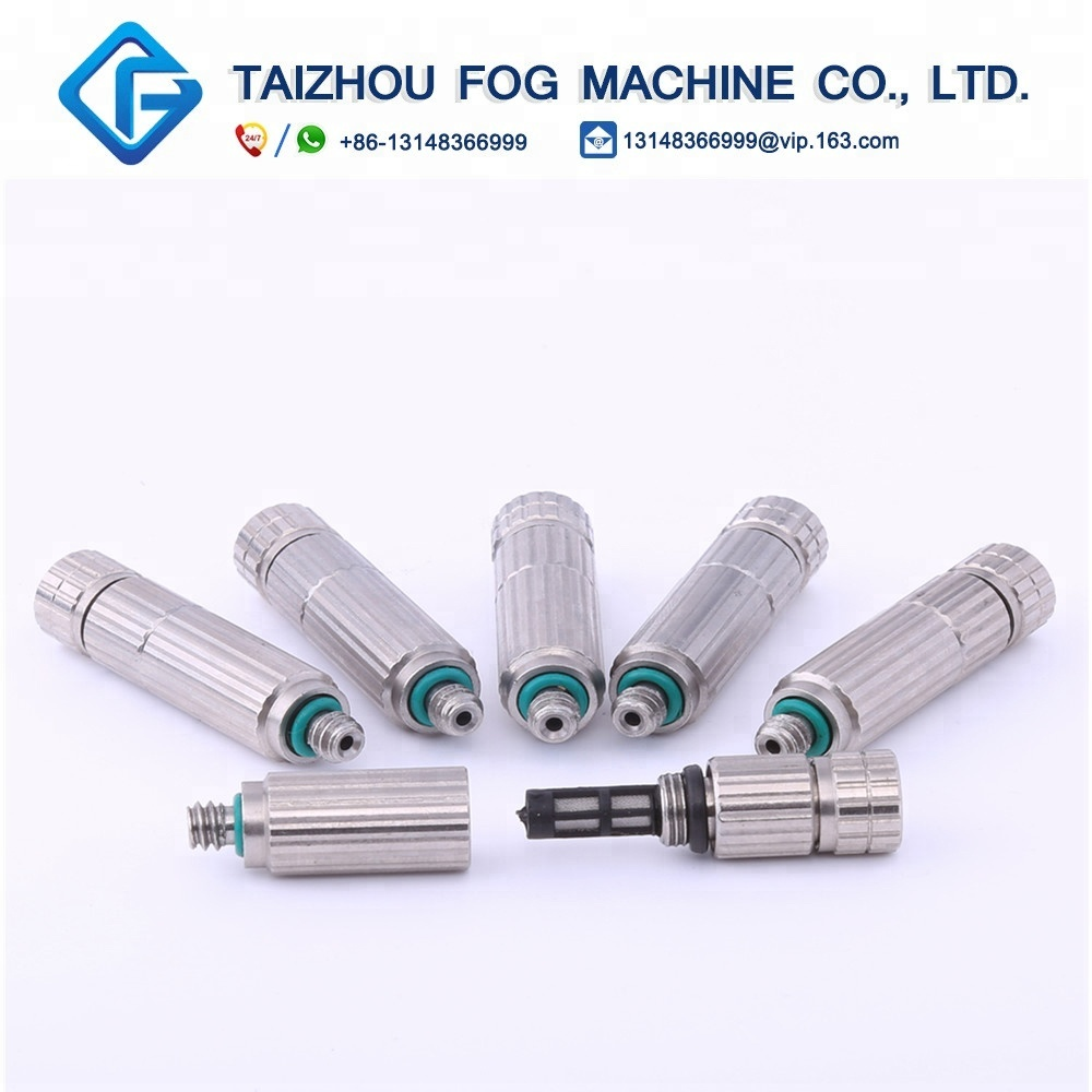 New type Anti drip fog spray nozzle water nozzle misting system fog nozzle