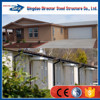 Low cost indian prefabricated steel house designs