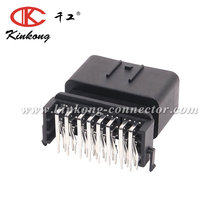 kinkong 24 pin auto connector for Male PCB pinheader ECU assembly
