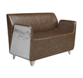 New Beauty Salon Furniture Reception Area 3 Seats Waiting Room Chair Popular Hot Sale
