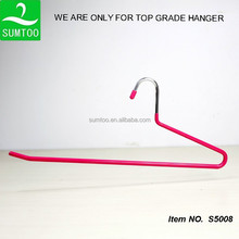 PVC coated metal slack hangers for pants