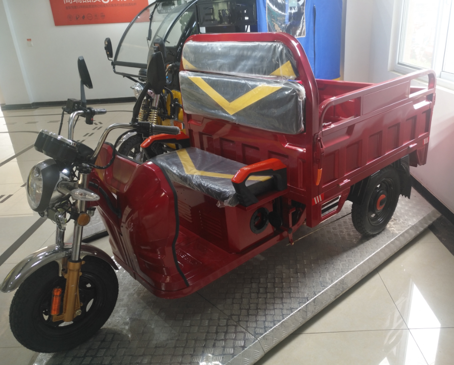 electric cargo tricycle cargo truck E-mark certificate electric loader
