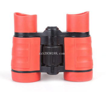 4X30 children gift binocular plastic mini toy binoculars toy binocular toy telescope kid's telescope