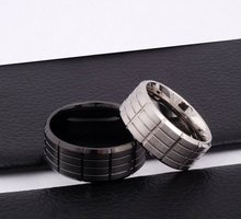 Big Stainless Steel Couple Finger Ring Jewelry(JR10024)