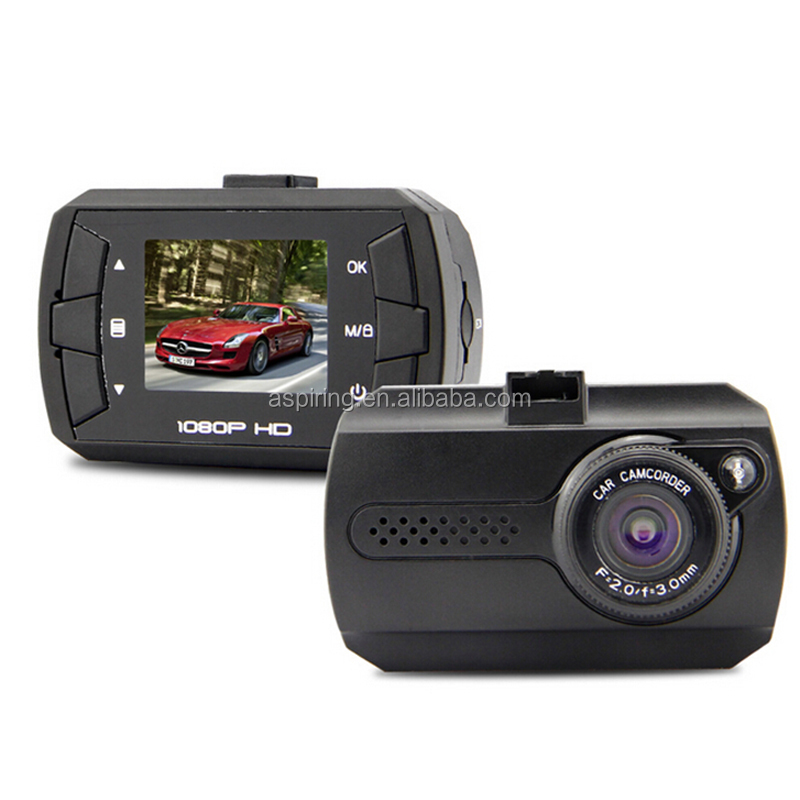 1.5inch screen with G-sensor and Motion detection car front camera wireless