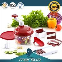 Best Quality As Seen on TV Palstic Durable Food Safe Material Magic Fruit Slicer