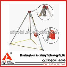 China aolai 2015 hot selling Hand Rescue Tool Tripod/winch Rescue Safety Items - Tripod/winch