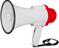 HY1002 Academy Sports Bull Horn Plastic Toy Megaphone