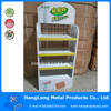 baby shop diaper display rack metal merchandise display racks