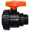 black plastic ball valve