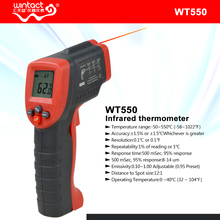 Digital Non-Contact Ir Laser Infrared Thermometer WT550