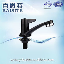 Manufacturer black basin tap chrome abs new polished bathroom sink faucet