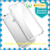New Arrival Utral Clear TPU+PC Phone Case For iPhone 7 PC TPU Case
