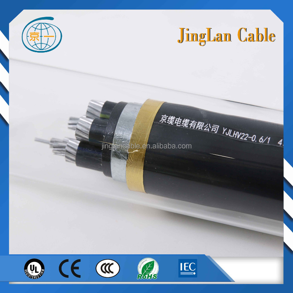 copper conductor XLPE insulated low voltage 35mm2 50mm2 75mm 100mm 150mm 25mm2 power cable