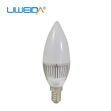 CE ROHS E27 Dimmable LED Candle Light,3w 5w LED Candle Bulb,Candle LED light