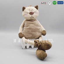 Good quality 7 inch cat plush custom stuffed <strong>animals</strong> for sale