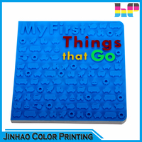 colorful cardboard children education book printing
